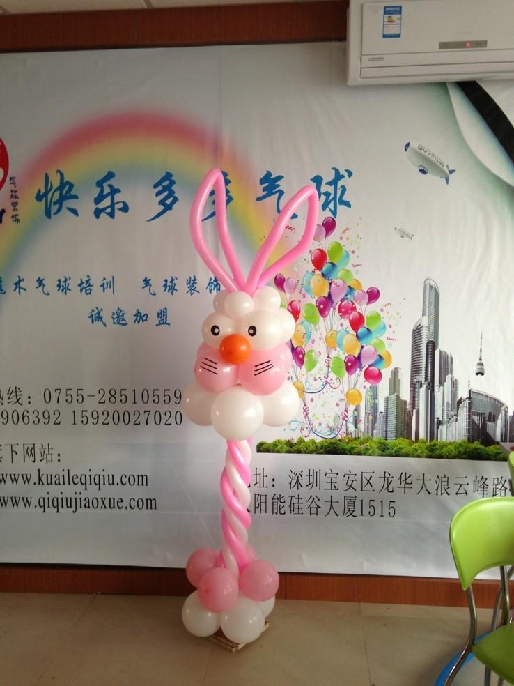 长条气球造型教程图图片分享;