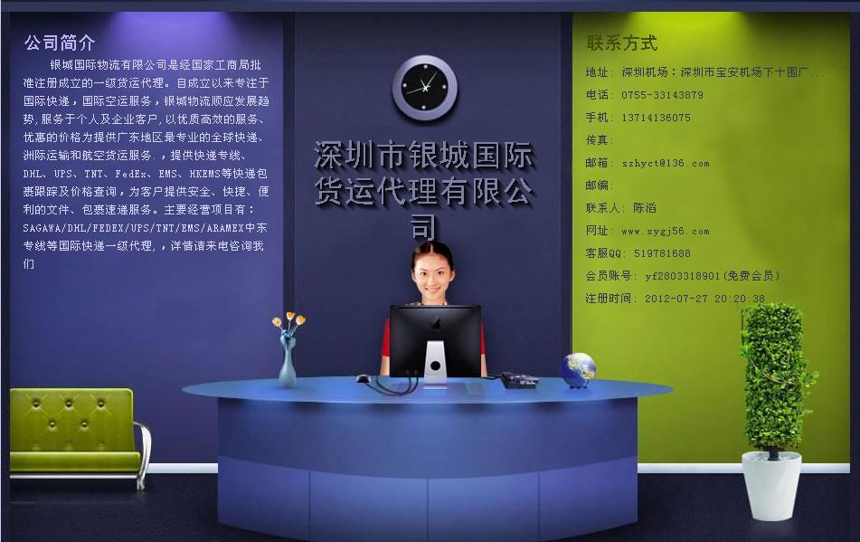 深圳市银城国际货运代理有限公司