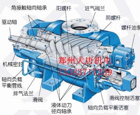 郑州螺杆空气压缩机配件维修服务处
